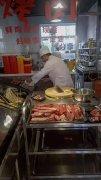 梅河口室内地摊烤肉