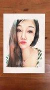 《鑫義手绘》各种照片人物彩铅手绘